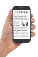 Akıllı telefonda Haber okumak