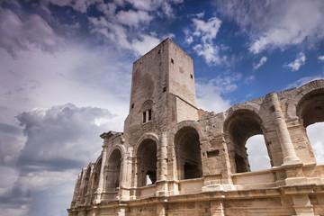 Beautiful arena in Arles, France