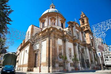 San Francesco Saverio church. Palermo, Sicily.