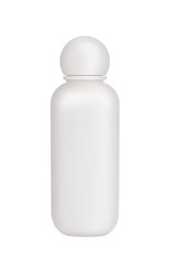 Bottle of cosmetics