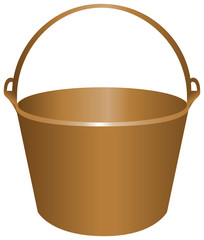 Bucket for construction work