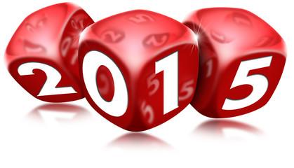Dice 2015 Happy New Year