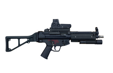 Heckler and Koch machine gun mp5 E6