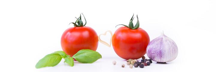 pasta und tomaten