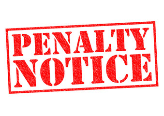 PENALTY NOTICE