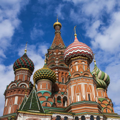 Moscow, Russia. St. Basil's Cathedral (Pokrovsky Cathedral)