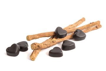 Lakritze und Süßholz