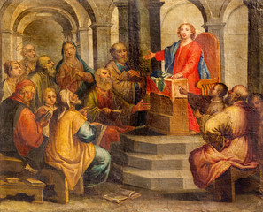 Padua - The Little Jesus in the temple among the scribes