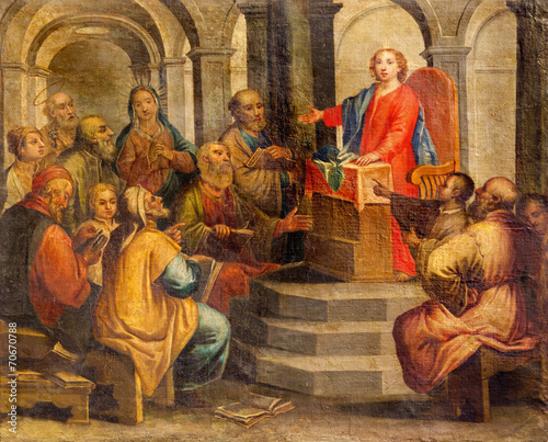 Padua - The Little Jesus in the temple among the scribes - 70670788