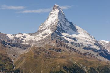 Zermatt, Dorf, Schweizer Alpen, Trockener Steg, Sommer, Schweiz