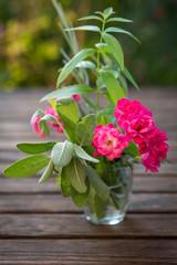 bouquet de plantes parfumées