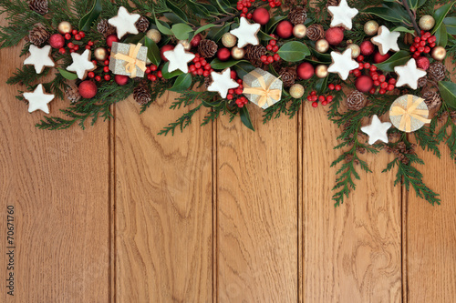 canvas print picture Christmas Frame