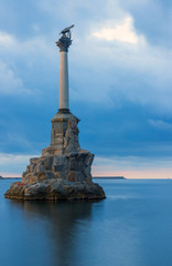 Monument to the sailors. Sevastopol.