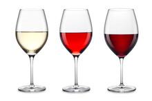 "Постер, картина, фотообои ""wine glass set"""