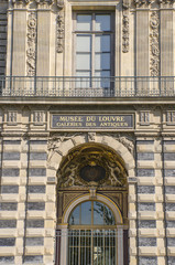 Louvre facade