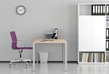 Modernes helles Büro