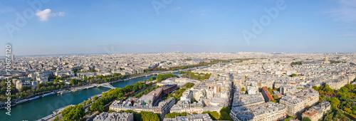 Papiers peints Paris Panoramic of the city of Paris