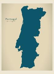 Modern Map - Portugal PT