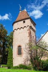 La Tour des remparts - Obernai - Alsace - Bas Rhin