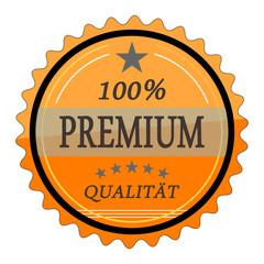 ql4 QualityLabel - 100 Prozent Premium Qualität - orange g1779