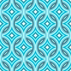 Blue Damask Pattern