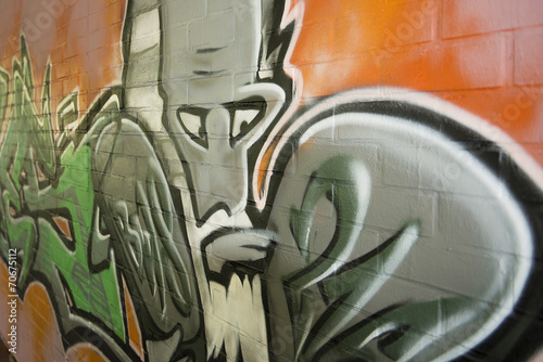 canvas print picture Graffiti
