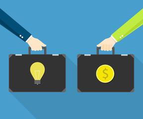 Exchange trading concept