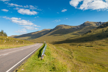 Road through the Highlands