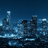 Los Angeles at night - 70676500
