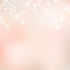 Christmas blurred vector background