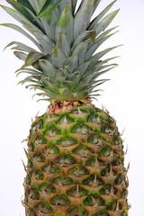 Ananas closeup isolated
