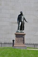 Bunker Hill Monument in Charlestown, Boston, Massachusetts