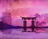 Mountain Sunrise in Japan