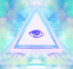 All seeing eye