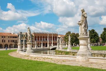 Padua - Prato della Valle and the Venetian palace