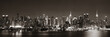 Leinwanddruck Bild - Midtown Manhattan skyline