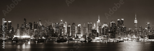 Plakat Midtown Manhattan skyline