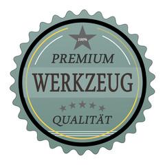 ql5 QualityLabel - Premium Werkzeug Qualität - türkis g1780
