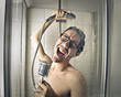 Singing in the shower - 70678703