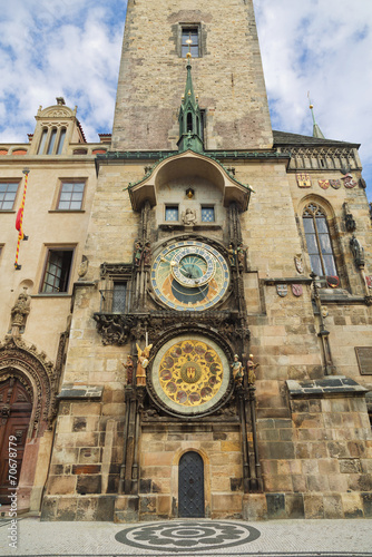 Fototapeta Famous Prague astronomical clock