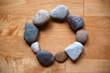 Steine im Kreis