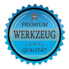 ql7 QualityLabel - Premium Werkzeug Qualität - blau g1782