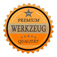 ql8 QualityLabel - Premium Werkzeug Qualität - orange g1783