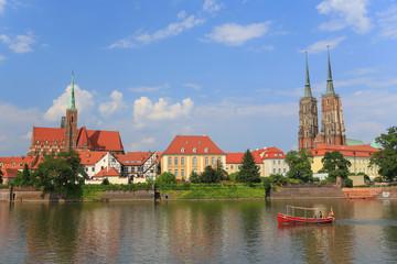 Wrocław - Ostrów Tumski - Panorama