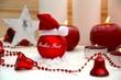 Frohes Fest - Weihnachtskugel mit Mütze