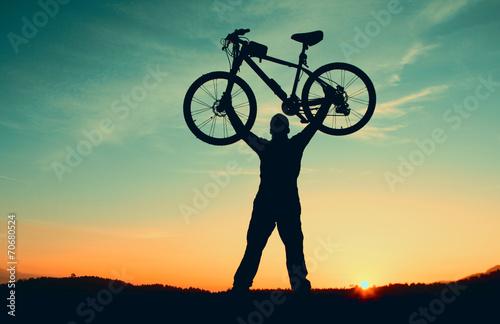 Fotobehang Wielersport bisiklet sevgisini aşılamak
