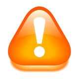 Exclamation danger icon