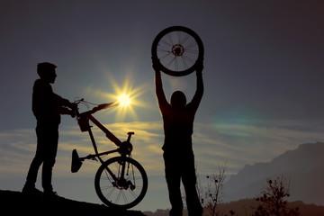 bisikletli spor yaşamı