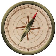 Bronce kompass