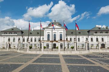 Bratislava - The Presidents (Grasalkovic) palace.